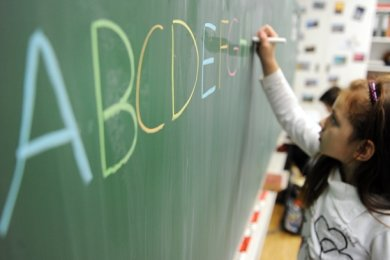 Das Landesamt für Schule und Bildung streicht Auerbach eine von sieben geplanten Einschulungsklassen. 15 Kinder (Symbolfoto) müssen nun mit deutlich längeren Schulwegen rechnen. Doch es gibt noch eine kleine Hoffnung.