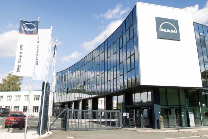 Rund 150 Beschäftigte arbeiten im Plauener MAN-Werk am Leuchtsmühlenweg.
