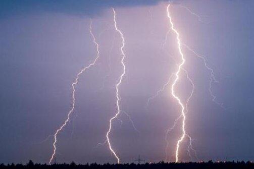 Unwetterwarnung: Schwere Gewitter im Erzgebirge und in Chemnitz möglich