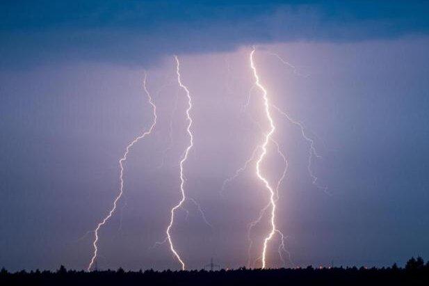 Warnung vor Unwetter in Südwestsachsen