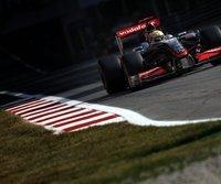 Lewis Hamilton fährt auf die Pole