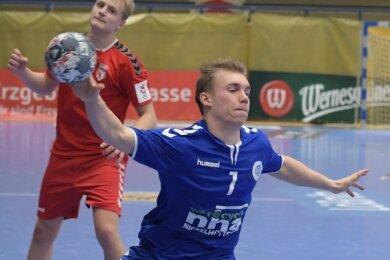 Im Gegensatz zum jüngsten Heimsieg gegen Cottbus zahlen die A-Jugend-Handballer der SG Nickelhütte diesmal vermutlich Lehrgeld. Maurice Thiele und seine Teamkollegen sind beim Top-Favoriten gefragt.