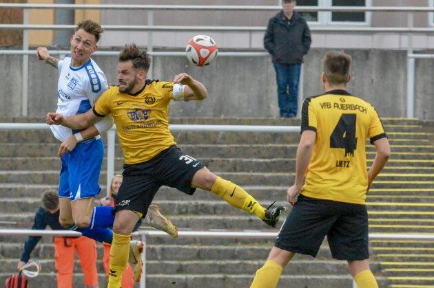 VfB Auerbach verliert in Bischofswerda