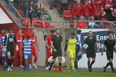 Endlich wieder Fußball vor Fans: Das Testspiel war in der Beziehung für den FSV auch ein Testlauf fürs erste Punktspiel am Samstag gegen Dortmund II.