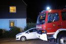 In einem Keller an der Stelzendorfer Straße war am Montagabend offenbar ein Wäschetrockner in Brand geraten.