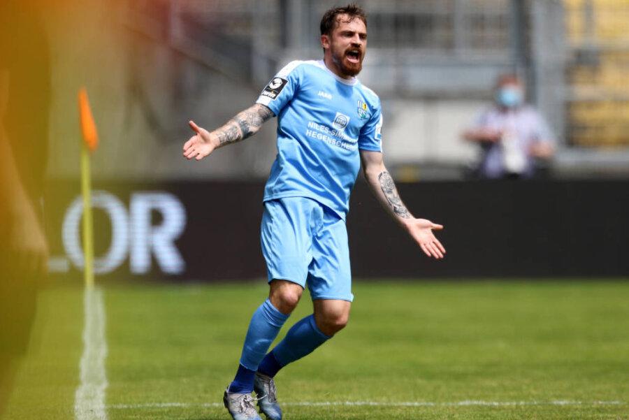 Pascal Itter vom CFC - das Team verlor am Samstag in Kaiserslautern.