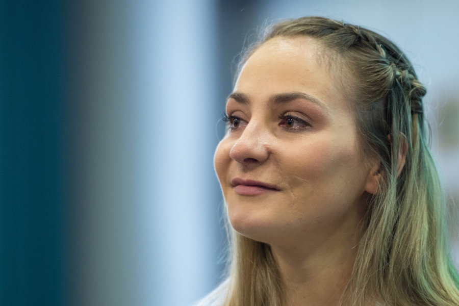 Radsport-Olympiasiegerin Kristina Vogel