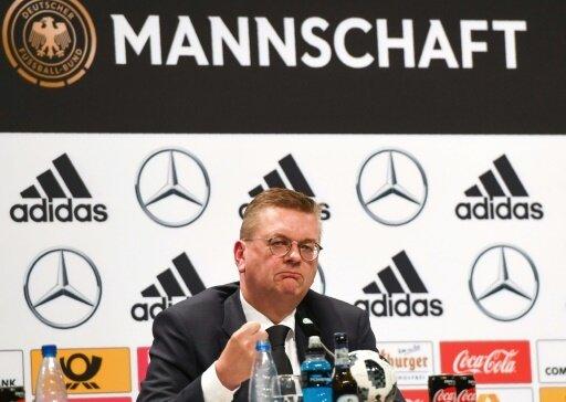 In der Kritik: DFB-Präsident Reinhard Grindel