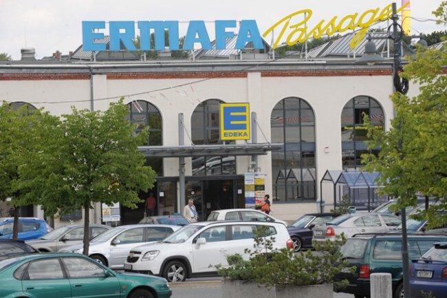Zeitungsfreie Zone: der Edeka in der Ermafa-Passage.