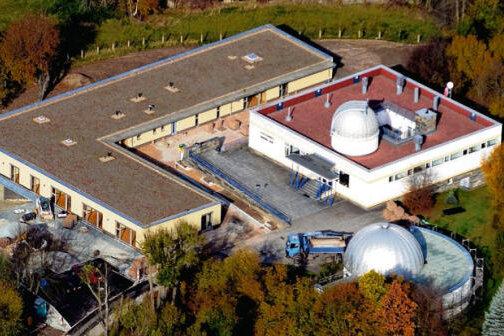 """Die Kindertagesstätte """"Flohkiste"""" steht direkt neben der Rodewischer Sternwarte."""