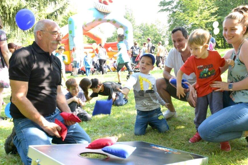 Weit mehr als 1000 begeisterte Besucher bei Tierparkfest