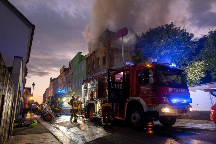 Zwei Tote bei Großbrand in Reichenbach