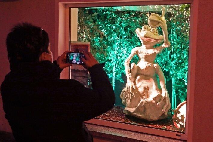 Die märchenhaften Funkel-Fenster eignen sich auch immer wieder als Fotomotiv.