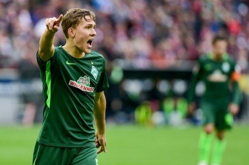 Augustinsson hat an der Weser vorzeitig verlängert