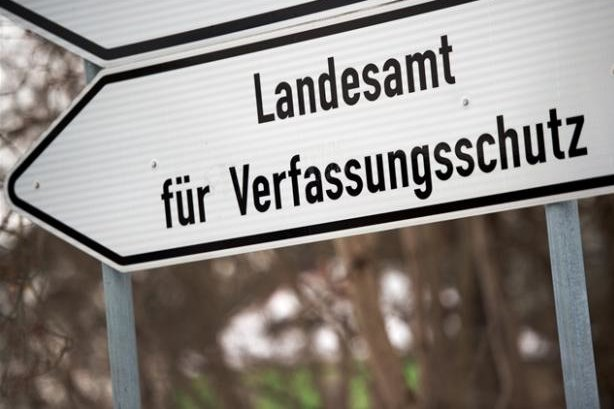 Rechte Szene im Erzgebirge gewachsen
