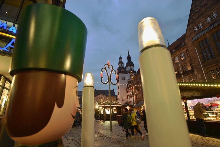 2019 erlebte Chemnitz den bislang letzten Weihnachtsmartk. Dieses Jahr soll es wieder klappen - es fehlen allerdings Bewerber.