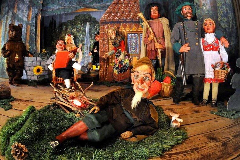 Frankenberger Marionetten tanzen wieder