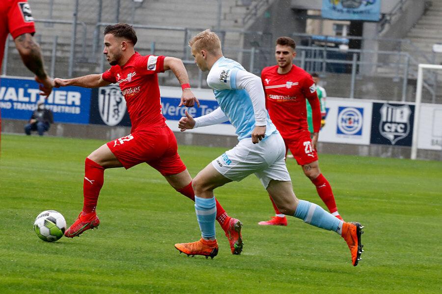 Liveticker: CFC empfängt Zwickau im Sachsenpokal-Halbfinale