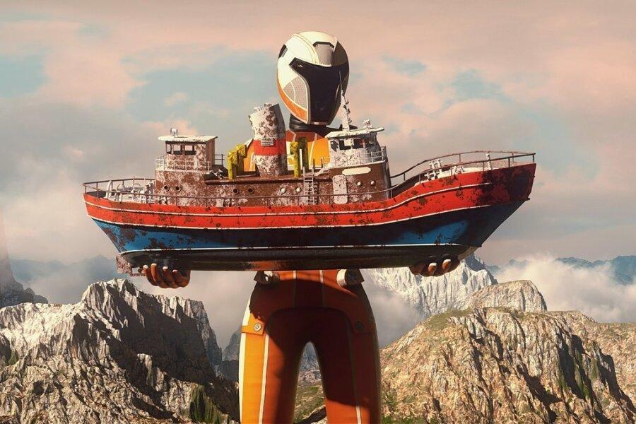 Kein Computerspiel: Der Avatar ist ein realer Mitspieler, nur die Umgebung virtuell.