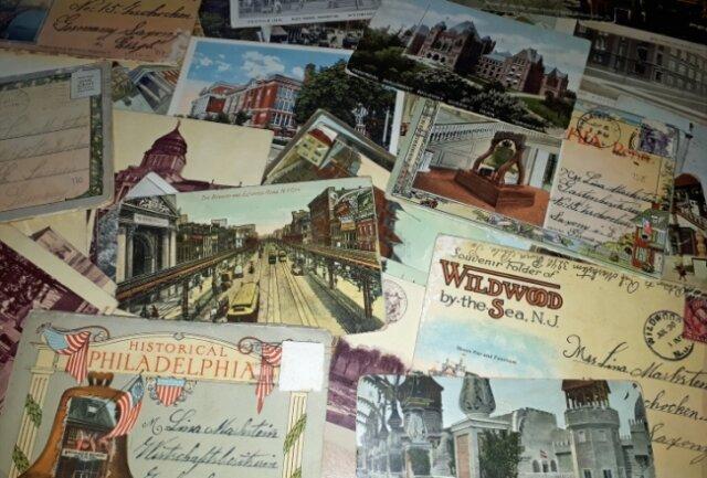 150 Postkarten von 1906 bis 1930 beflügelten die Neugier von Andreas Gröger.