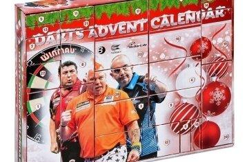 Der Kalender verkürzt auch die Wartezeit bis zur Dart-WM 2018.