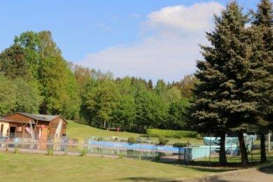 Das Waldbad Rodau ist nicht nur bei Badegästen aus der Gemeinde beliebt.