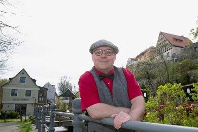 Der Kandidat und sein Lieblingsort in Plauen: Für Lars Buchmann ist die Rähme ein bezaubernder Flecken Altstadt, der auch als Ursprung für die Entwicklung von Plauen zu einer Großstadt gelten kann.