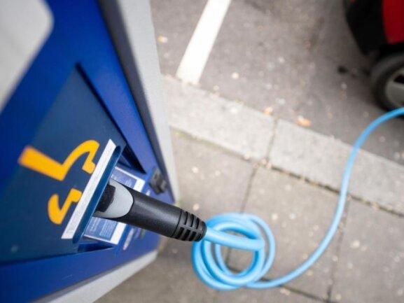 Die Ladeinfrastruktur für E-Autos in Zwickau ist ausbaufähig.