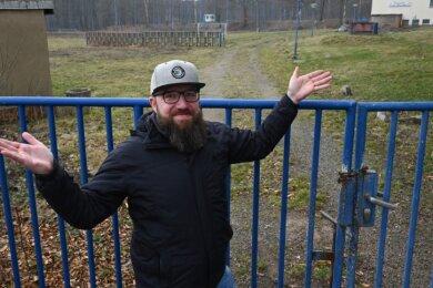 Das Max-Planck-Stadion im Chemnitzer Stadtteil Borna war einer der ersten Sportplätze der Region, die Jens Seifert in seinen Anfangsjahren als Groundhopper besucht hat. Während dort die Tore seit Jahren verschlossen sind, hofft der Frankenberger auf baldige Öffnungen anderer Sportstätten.