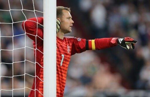 Gegen Frankreich ein guter Rückhalt: Manuel Neuer
