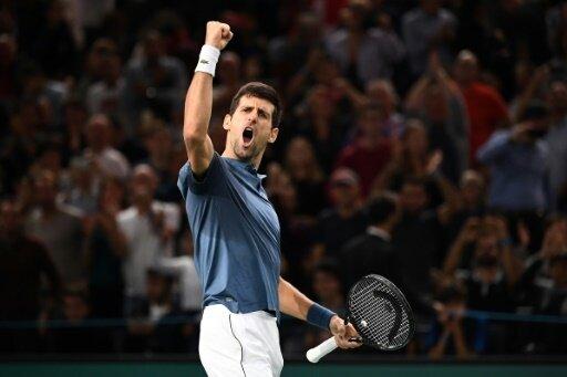 Novak Djokovic erreicht das Finale von Paris