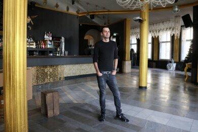 Nix los in der Villa Mocc: Wegen des Kultur-Lockdowns verzeichnet Geschäftsführer Marcel Kummers in diesem Monat keine Einnahmen. Er rechnet für 2020 mit einem Umsatzminus von 60 bis 70 Prozent.