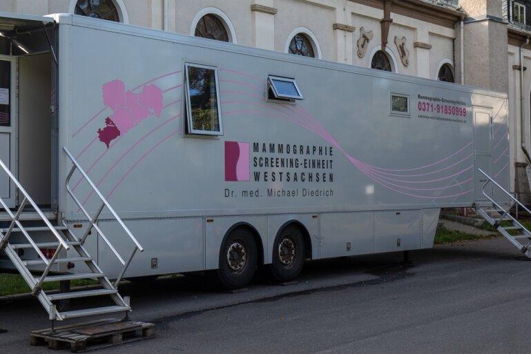 Krebsvorsorge: Mammografie-Mobil macht Station in Hohenstein-Ernstthal