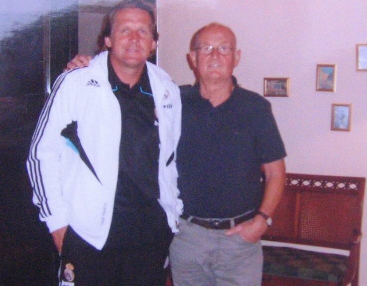 Wenn sich Real Madrids Coach Bernd Schuster (li.) und Heiner Sünderhauf treffen, wird über Zwickau geredet.