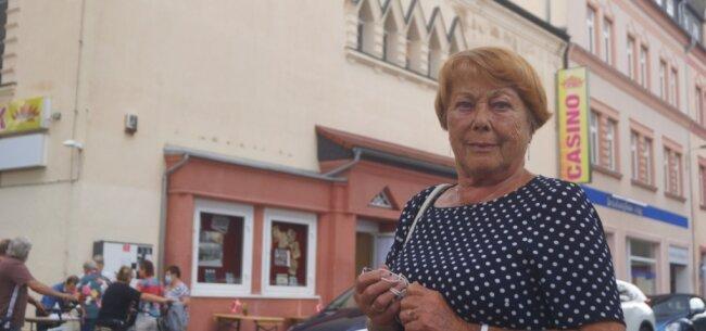 Christa Papsdorf war zum Tag des offenen Denkmals im Kino, wo ihre Mutti an der Abendkasse saß.