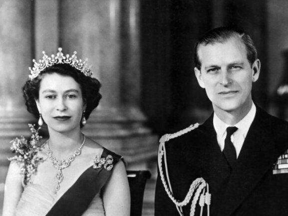 Queen Elizabeth II. und Prinz Philip sind seit mehr als 70 Jahren miteinander verheiratet.