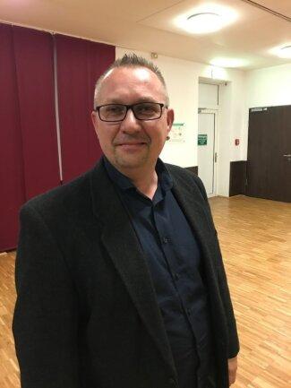 Jens Kubus sitzt ab sofort für die AfD im Stadtrat von Limbach-Oberfrohna.