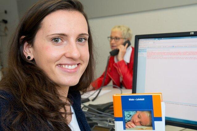 Manuela Göcke stand Experten-Chat Rede und Antwort.