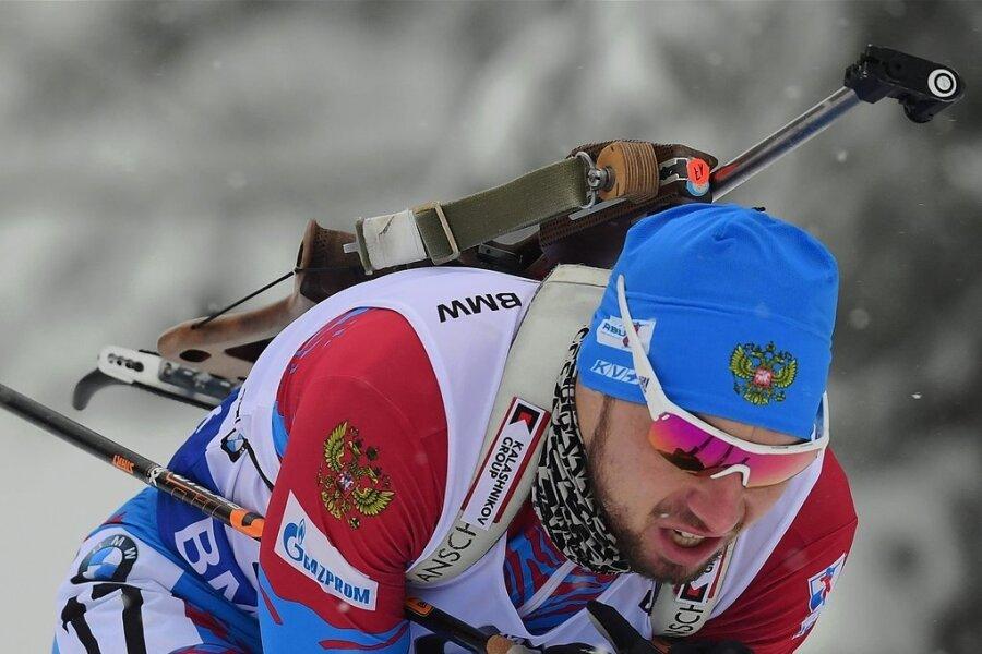 Der Russe Alexander Loginow war auf der Strecke schnell unterwegs und ließ sich auch am Schießstand nicht aus der Ruhe bringen.