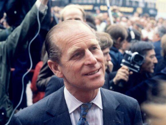 Prinz Philip 1978 bei einem Besuch in Bonn.