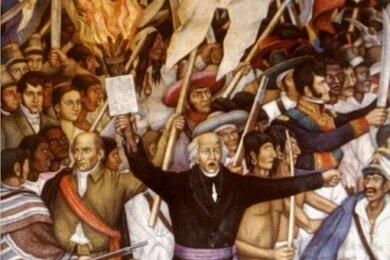 Pfarrer Miguel Hidalgo forderte 1810 die Unabhängigkeit Mexikos - doch bis die tatsächlich eintrat, mussten noch etliche Kämpfe gefochten und Verträge formuliert werden.