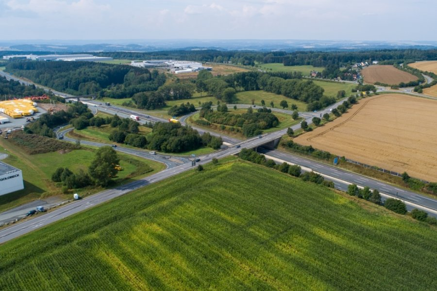 Anschlussstelle Treuen wird zur Baustelle