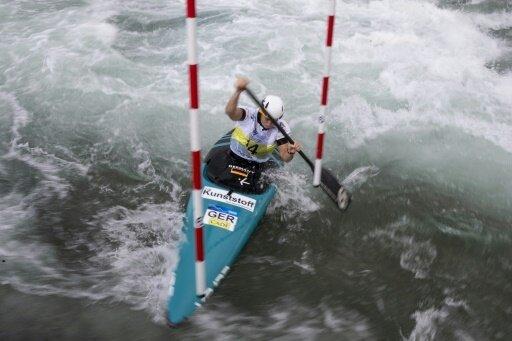 Stöcklin erreichte nur den 9. Platz im Canadier-Einer