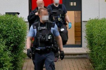 Polizei und Rettungsdienst wurden zu einem Wohnhaus auf dem Kaßberg gerufen, weil dort ein Familienstreit eskaliert war.