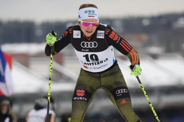 Sandra Ringwald kam am Berg nicht so richtig vorwärts.