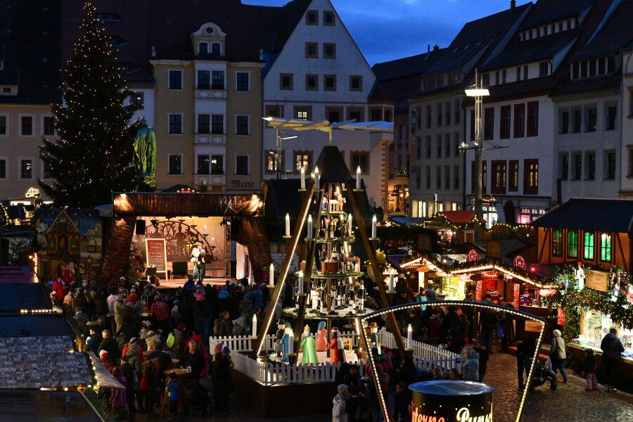 Christmarkt in Freiberg eröffnet