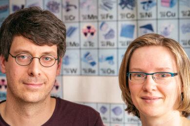DPFA-Regenbogen-Gymnasium Augustusburg Fachlehrer Jan Bandemer und Katrin Korndörfer