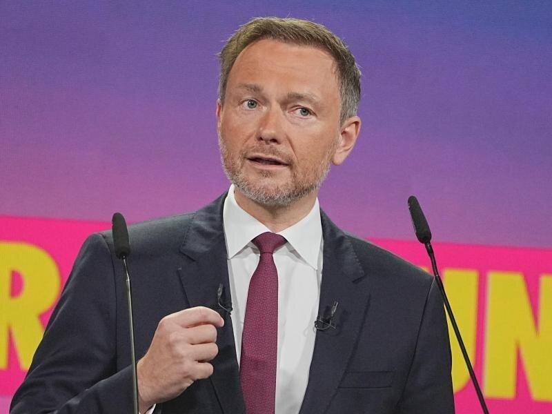 «Unser Ziel ist es, dass Deutschland weiter aus der Mitte regiert wird»: Christian Lindner.