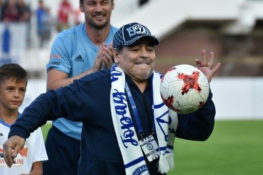 Maradona übernimmt Zweitligaklub aus Mexiko