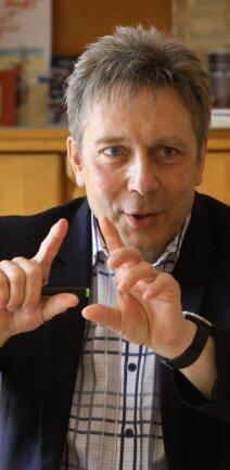 Wird am Montag zur Stadtratssitzung einiges zu klären haben: Bürgermeister Thomas Nordheim.